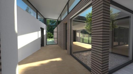 crèche cubiste passive patio